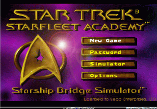 Star Trek - Starfleet Academy Bridge Simulator (32X)